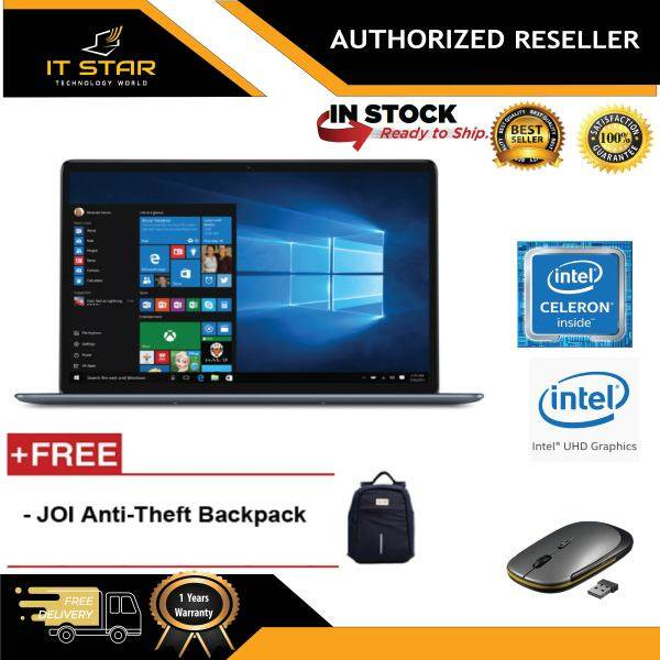 JOI Book 150 14.1 FHD IPS Laptop ( N4100, 4GB, 32GB+256GB, Intel, W10H ) Malaysia