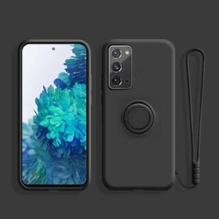TFOSTNY, Dành Cho Samsung Galaxy S20 Plus Note20 Ultra S8 S9 S10 Plus Note 10 S20 FE Với Dây Đeo Tay Dây Buộc Bao Vải Vi Sợi Silicon Lỏng thumbnail