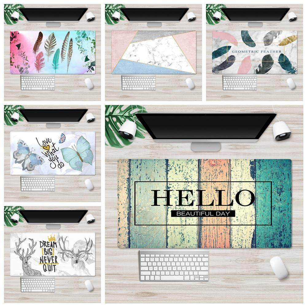 90*40cm Mouse Pad Office Computer Desk Mice Mat Game Keyboard Laptop Cushion