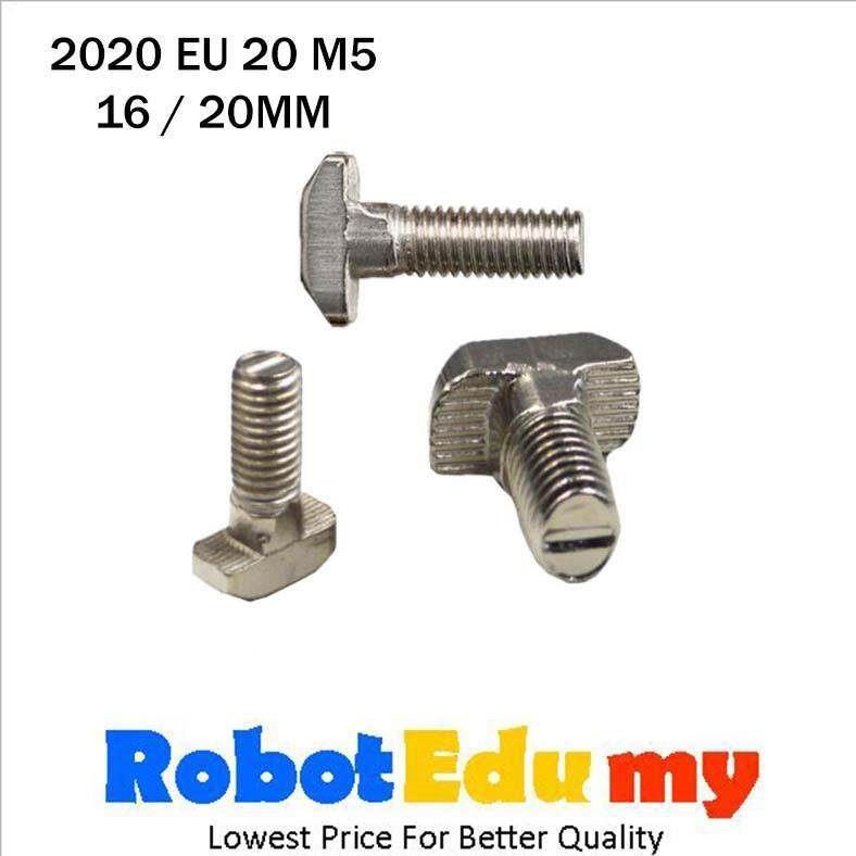 Aluminium Profile 2020 EU 20 T Slot T Bolt M5 ( 16 , 20 mm )