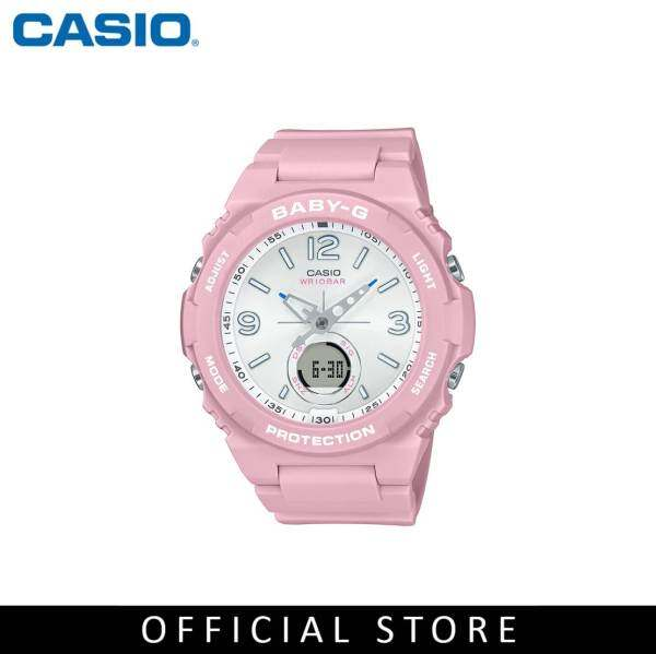 Casio Baby-G BGA-260SC-4A Pink Resin Band Women Sports Watch Malaysia
