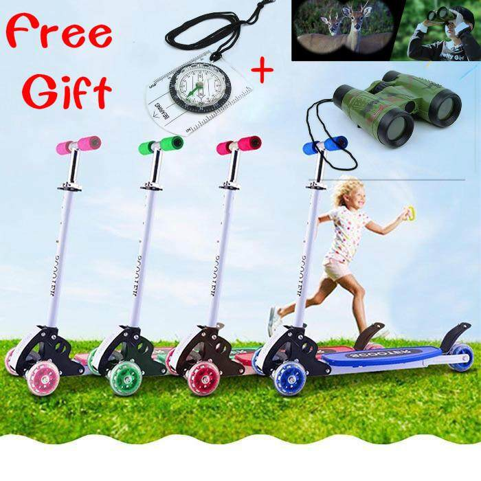 Giá bán SuperCart Kick Scooter Adjustable Height Best Gifts for Children Kids Boys Girls