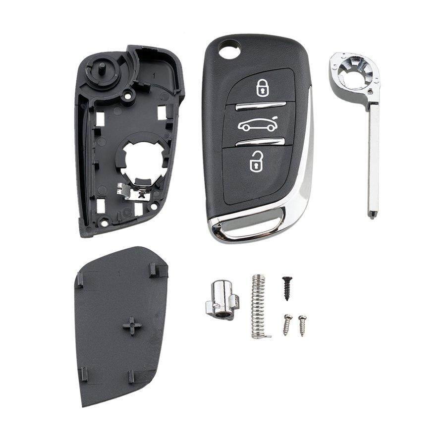 OSMAN Jingyuqin Va2 Blade For Peugeot Partner 306 407 Modified Partner 3 Button Key