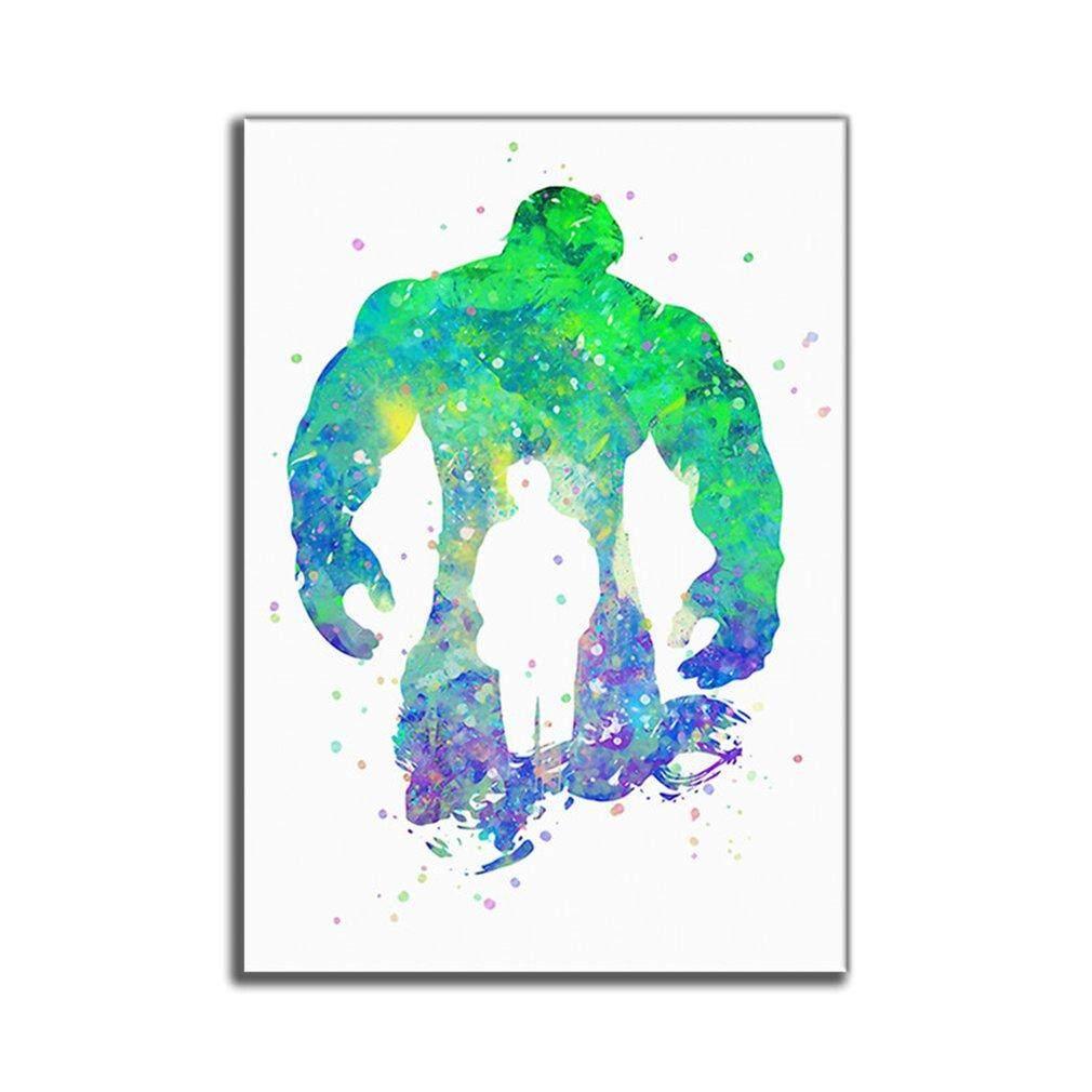 Penjualan Terbaik Warna Portabel Lukisan Inkjet Kamar Tidur Dinding Gambar Tanpa Bingkai Lukisan Kanvas
