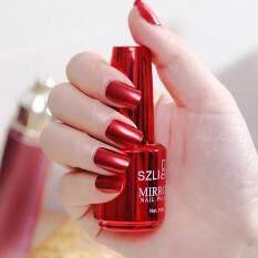 Sơn móng tay ánh kim hiệu ứng gương ma thuật sơn móng tay Chrome nghệ thuật đánh bóng varnish18ml COD