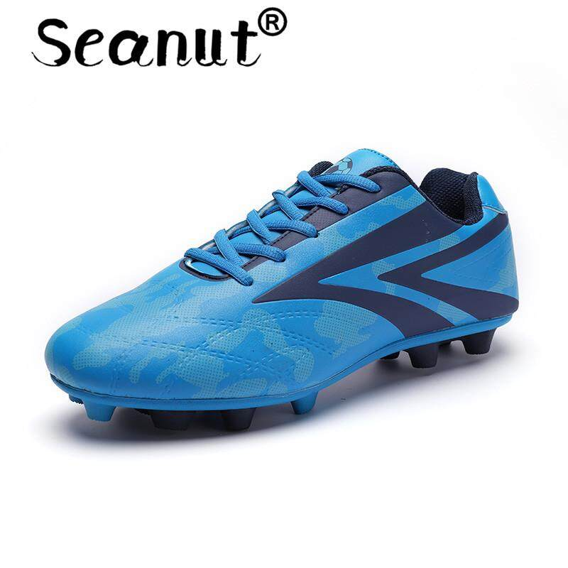 Seanut Futsal Shoes Breathable High Quality Cheap Men Soccer Shoes Kids Football Boots By Seanut.
