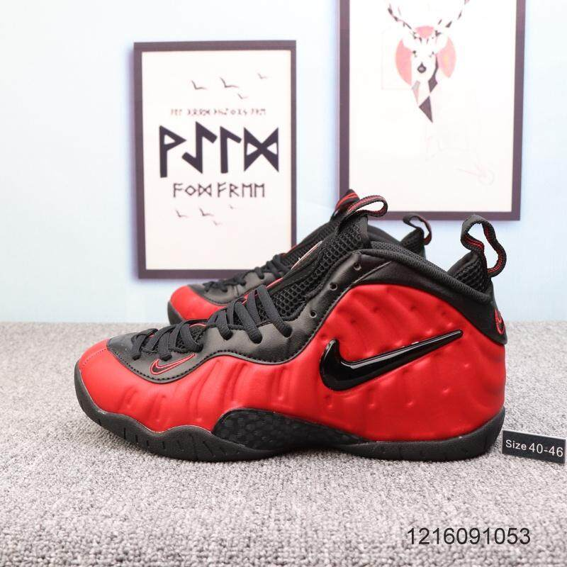 Authentic Nike_Air Foamposite One Basketball Shoes Men's Casual Sport Sneakers