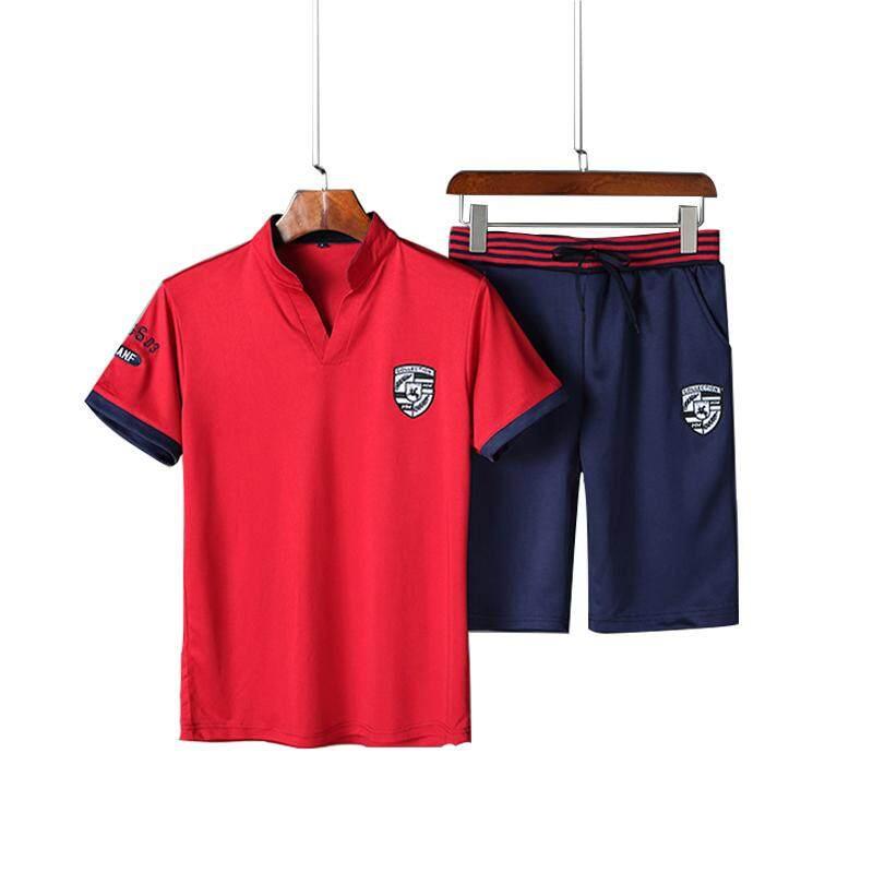 5229ab905 Summer 2019 Short-sleeved T-shirt Korean Version Suit Men's Casual T-shirt