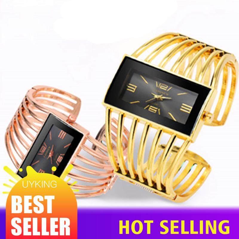 4d53b70d33f Women Bracelet Watches Luxury Fashion Rose Gold Bangle Watch Rectangular  for Women Dress Clock Female Saati