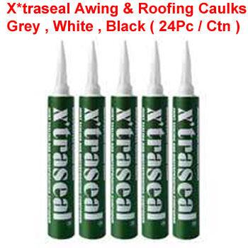 XTRASEAL 400ML AWNING CAULKS-GREY , WHITE , BLACK  ( 24 PC/ CTN )