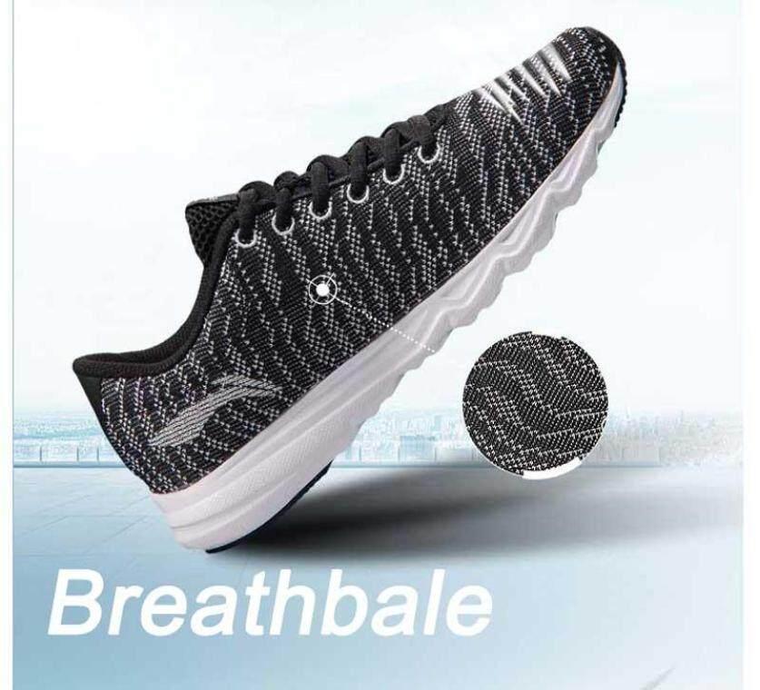 (Giải Phóng Mặt Bằng) Giày Nam Li-ning 2017 Giày Chạy Nhẹ Giày Thoáng Khí Giày Sneaker Dệt Comfort Lót Giày Thể Thao Arbm115 Xyp470 [bh 1 năm] giá rẻ