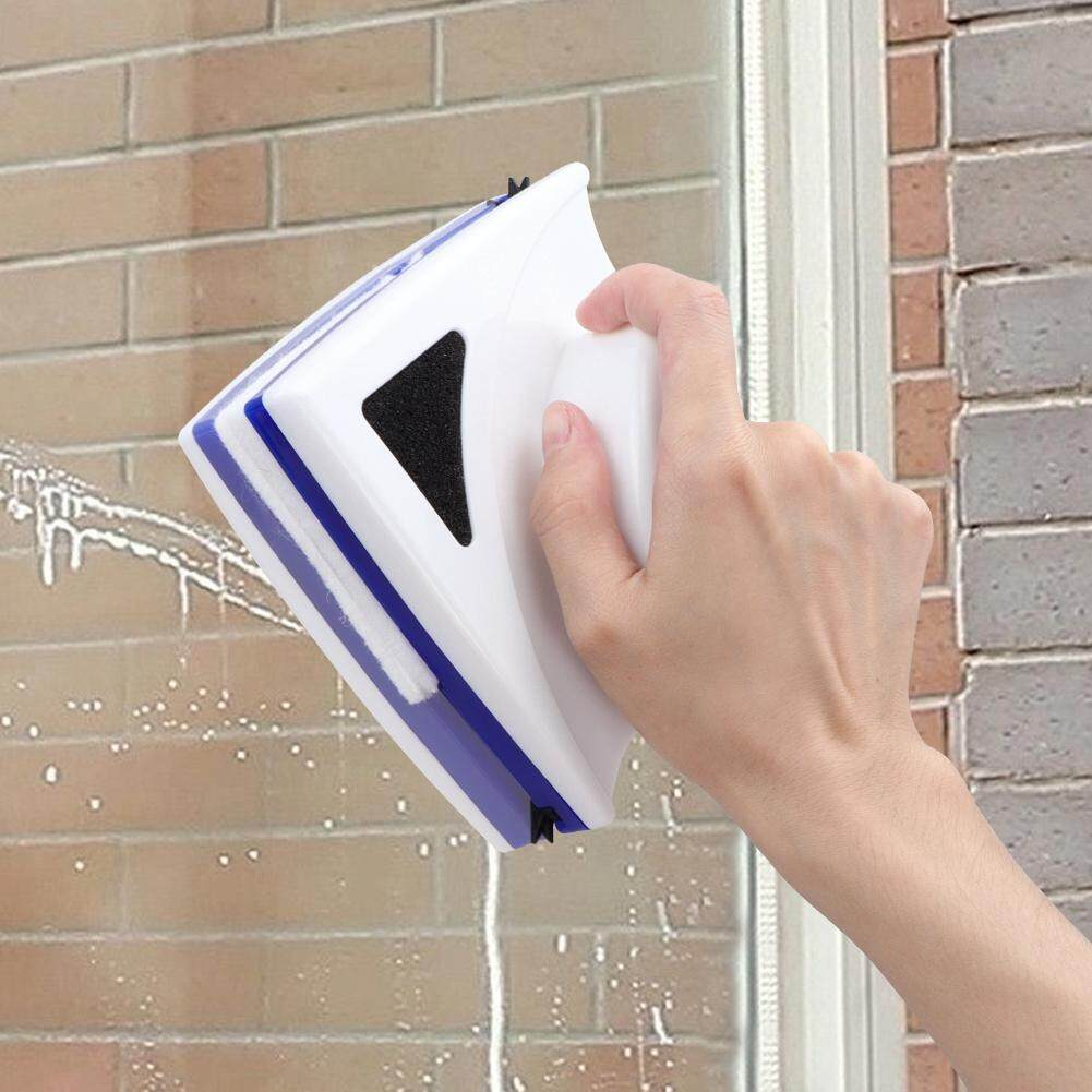 Double Side Magnetic Window Glass Brush Cleaner Wiper Surface Home Tool