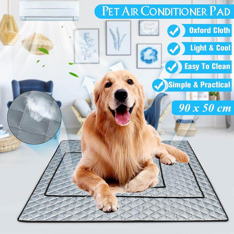 Pet Cooling Mat Non-Toxic Cool Pad Cooling Pet Bed for Summer Dog Cat Puppy