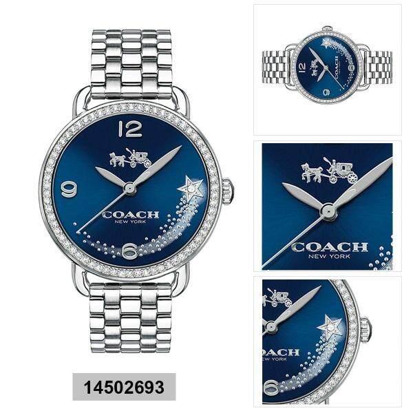 Original Coach Womens Delancey Watch 14502693 with 2 Years Warranty Malaysia