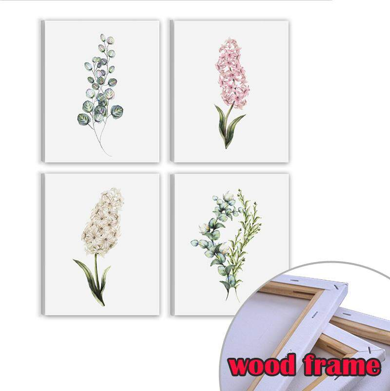 Framed Art Print Painting Posters and Prints, Wood Frame Home Decoration Wall Art Decor