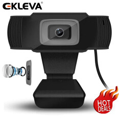 EKLEVA USB 720P Webcam Quay Video Camera Web Có Micrô Máy Tính Xách Tay, Máy Quay Video Để Phát Trực Tuyến, Hội Nghị, Trò Chuyện Video Dingtalk, Webinars, Chơi Game, Học Từ Xa,
