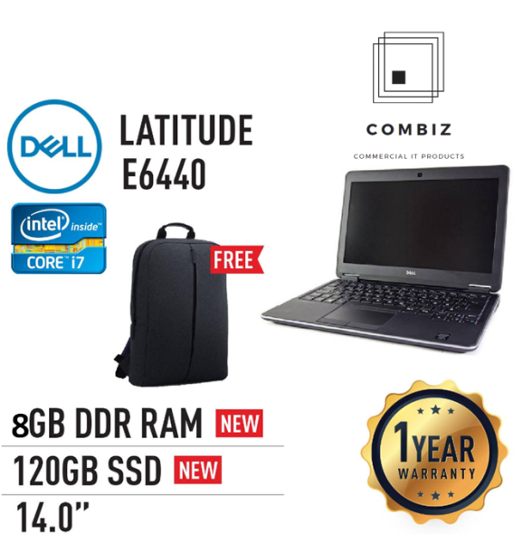 Dell Latitude E6440 - 14 / Core I5 / I7-4th Laptop (Refurbished) Malaysia