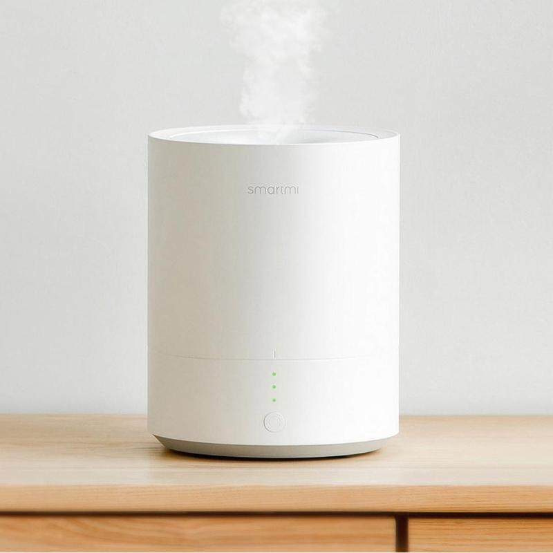 Original Xiaomi Smartmi Humidifier Air dampener Air Aroma Diffuser Essential Oil Micron Water Mist Quiet Operation (White) Singapore