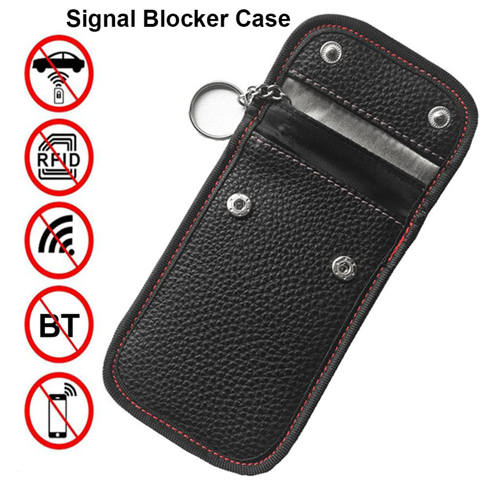 Flameer 2pcs//set Car Key Faraday Box Signal Blocker Cage Key Fob Phone Privacy Guard