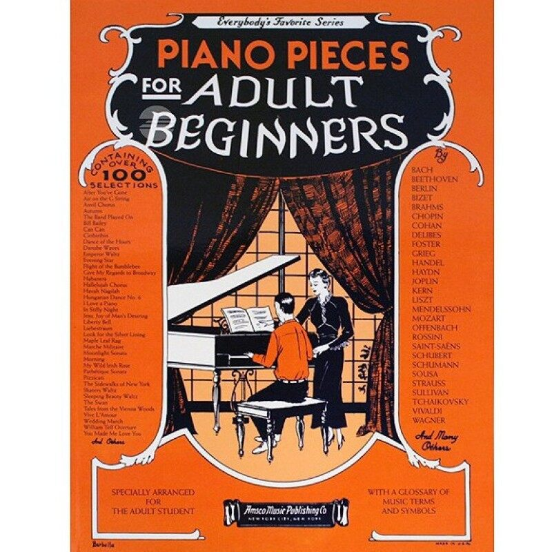 PIANO PIECES For Adult Beginners Malaysia