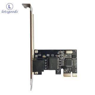 Card Mạng Gigabit Ethernet PCI-E Express Bộ Chuyển Đổi LAN Cổng RJ45 Cho Máy Tính Để Bàn Máy Tính Để Bàn thumbnail