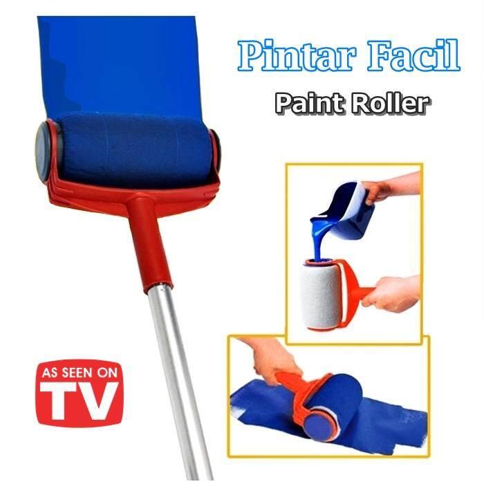 ALAT MENGECAT RUMAH Pintar Facil Paint Roller Kit Wall Painting Brush Tools