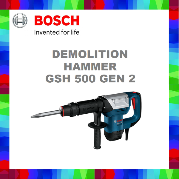 BOSCH GSH 500 Demolition hammer/Breaker with Hex