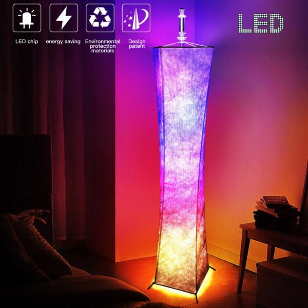 Đèn LED Sàn Văn Phòng Phòng Phòng Khách Phòng Ngủ, Ngầu, Eo Nhỏ Siêu Mỏng Lãng Mạn Ngọn Hải Đăng RGB Màu Sắc Thay Đổi Độ Sáng Có Thể Điều Chỉnh Trang Trí Nội Thất