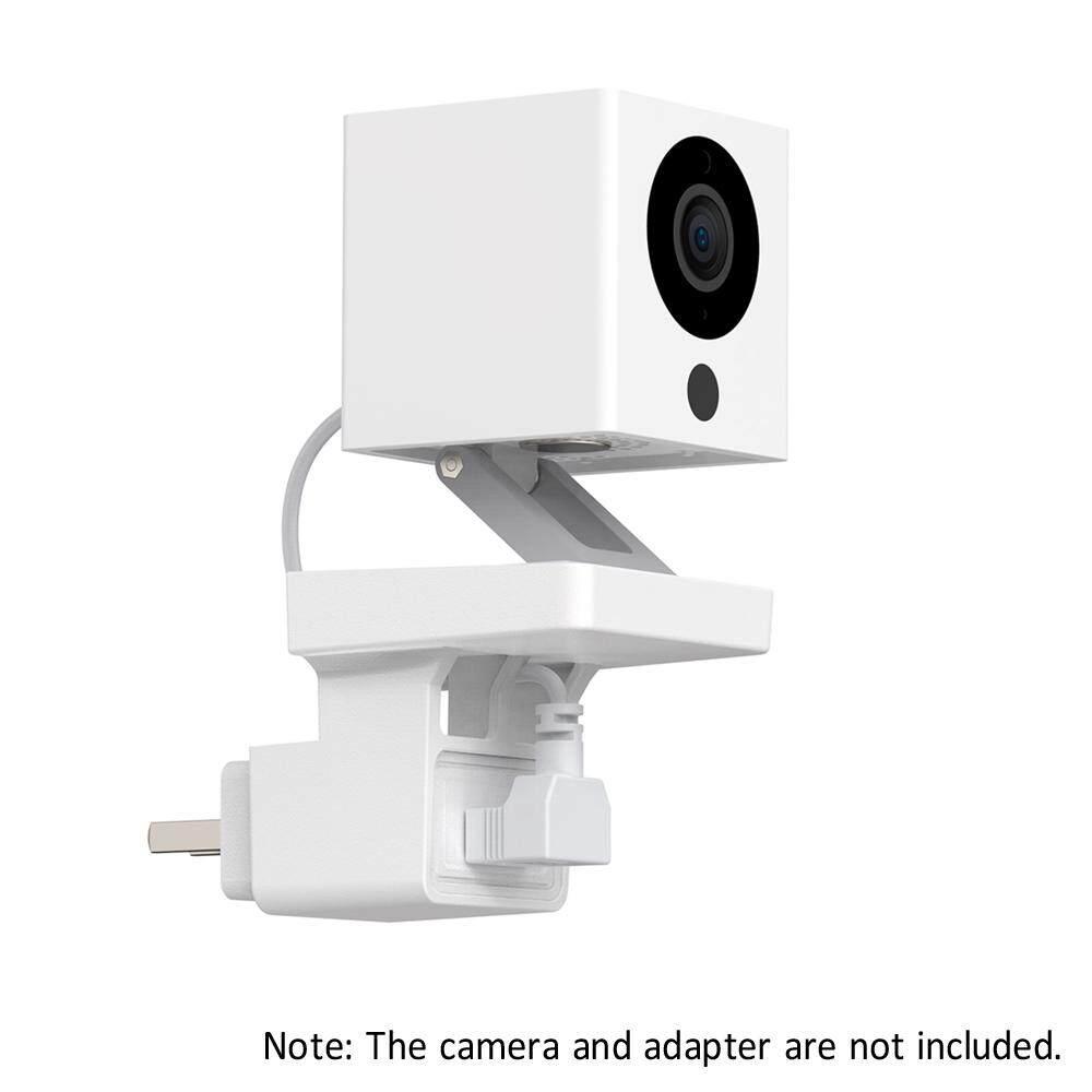 1 Pc Socket Holder Bracket AC Outlet Mount Wall Mounting Smart Cable  Arrangement Compatible with Wyze Cam V1/V2