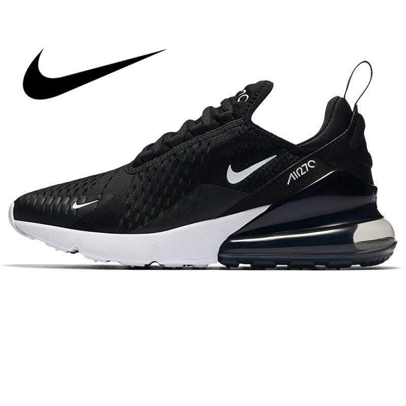 Original Authentic Nike A i r Max 270 Men's Running Shoes Sports Outdoor Sneakers Lightweight Shock Absorbing Breathable Training Durable Fashion