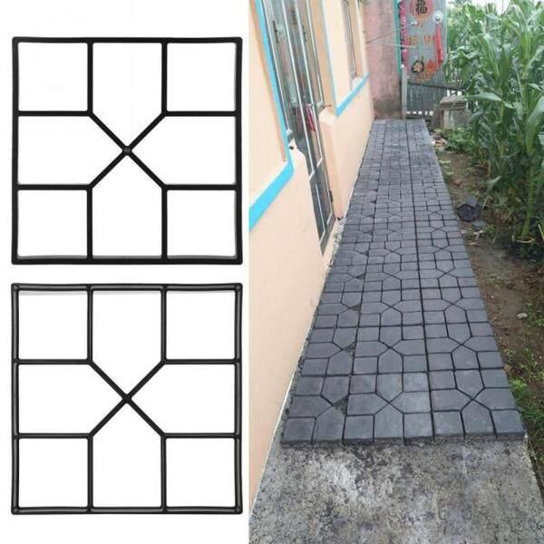 Khuôn Bê Tông Homevery Garden Path Maker DIY Lát Gạch Xi Măng Đường Bê Tông Khuôn