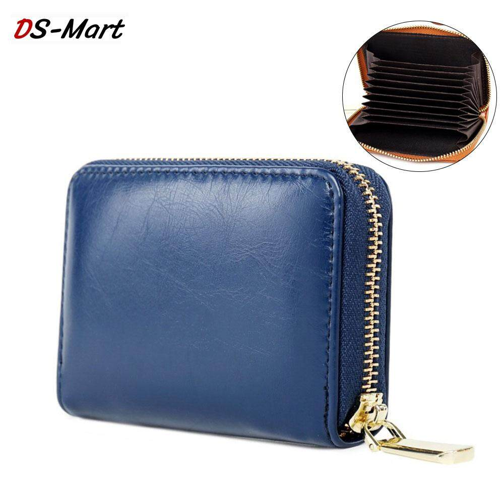 535eecfd2f0d DS-Mart PU Leather Credit Card Holders Female Card Holder Wallet Women Business  Cardholder Organizer
