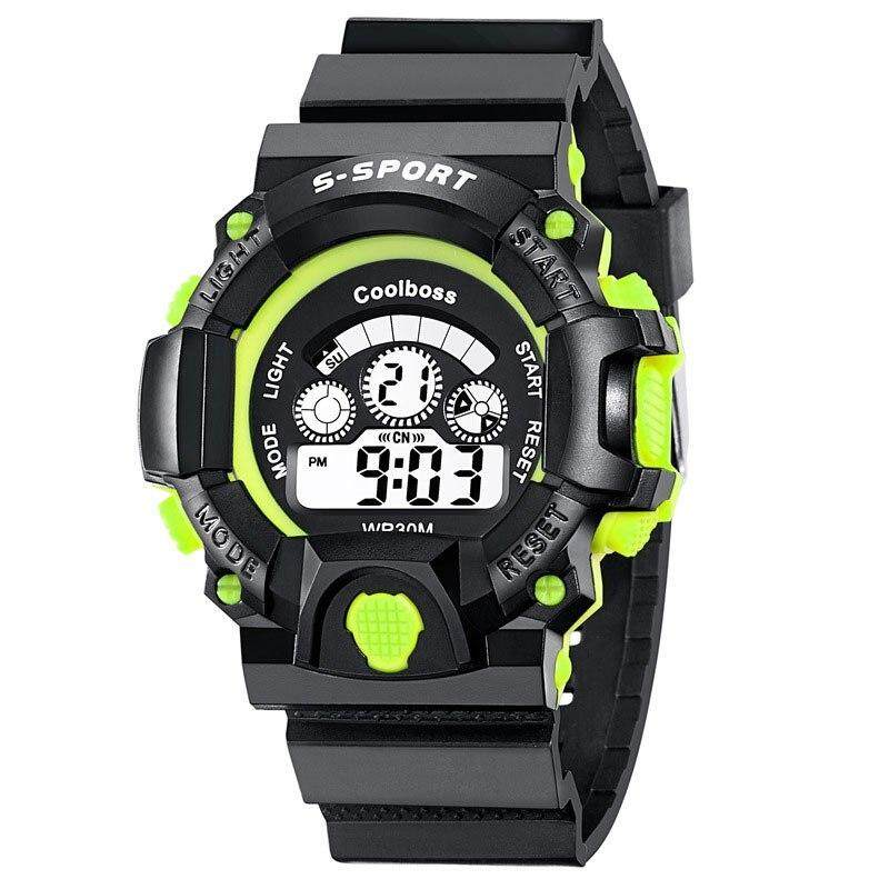 KingTop Fashion Sport Watch Children Kids Watches For Boys Students Electronic LED Digital Wristwatch Child Wrist Clock Hours Cool Gifts Malaysia