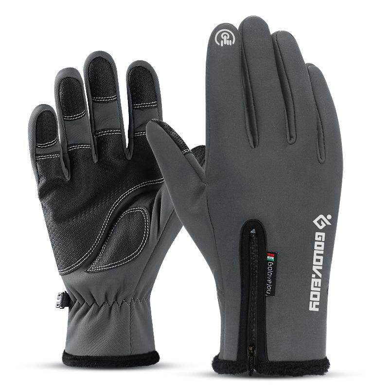 Golovejoy Touch Screen Gloves Diving Cloth Windproof Plus Velvet Waterproof