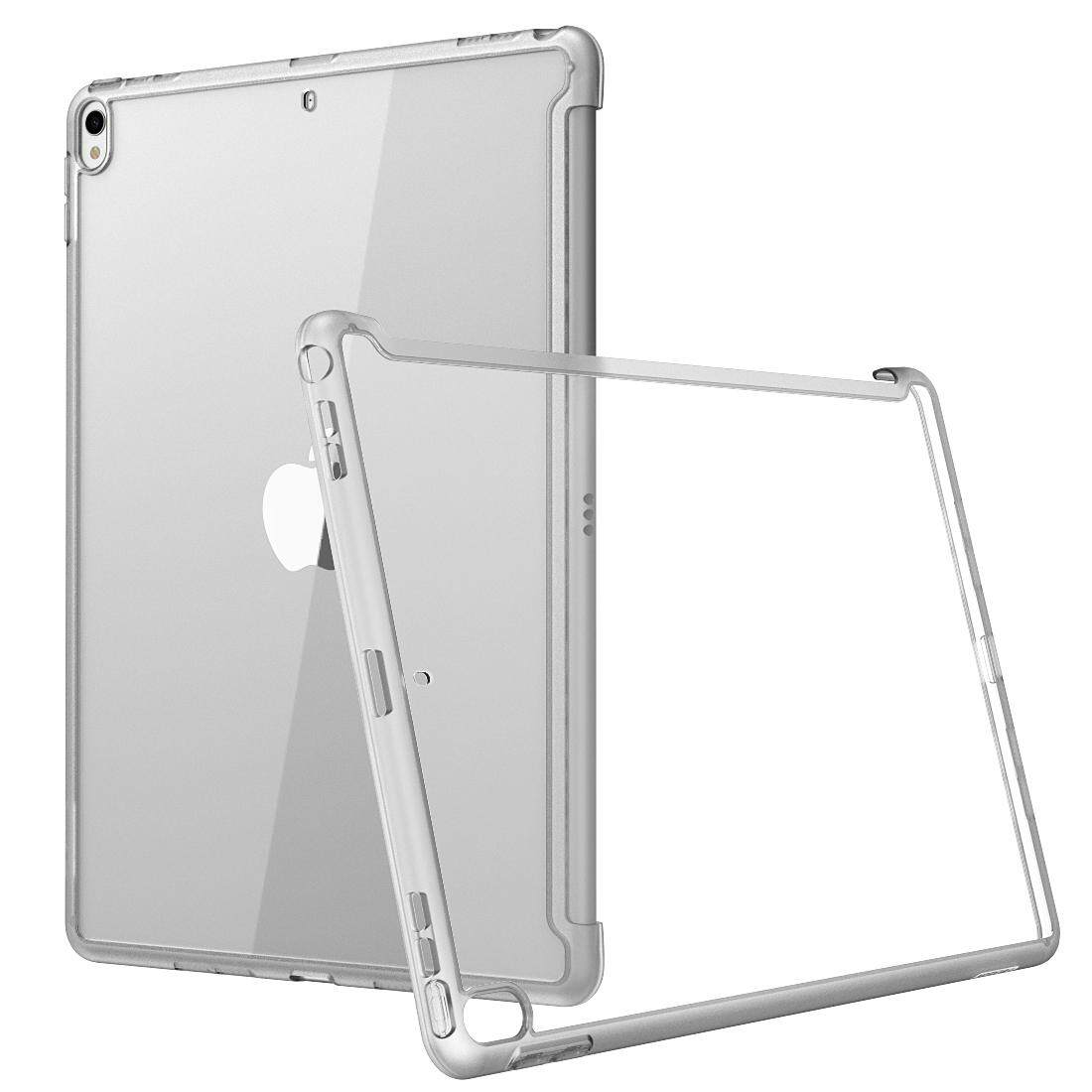 Giá For iPad Air 3 Case 10.5 2019 (3rd Generation), iPad Pro 10.5 2017 Case  i-Blason [Compatible with Official Smart Cover and Smart Keyboard] Clear Hybrid Cover