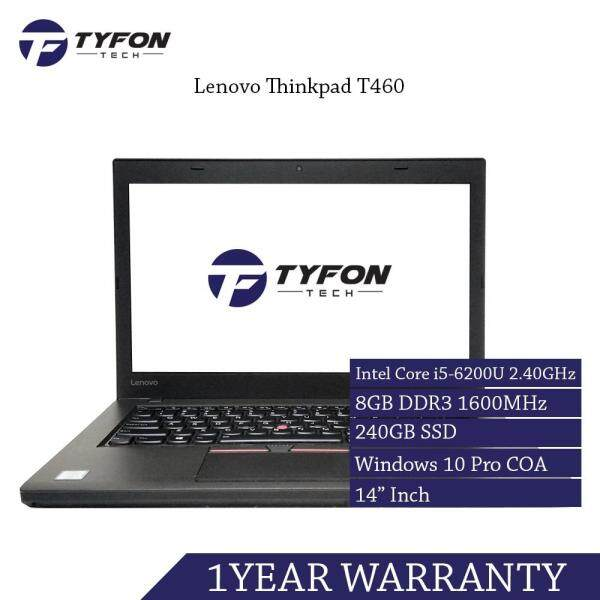 Lenovo Thinkpad T460 i5 8GB RAM 240GB SSD Laptop (Refurbished) Malaysia
