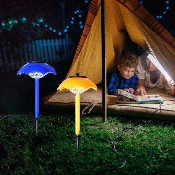 Ô Mini Năng Lượng Mặt Trời, Bãi Cỏ Nhẹ Đèn LED Ban Đêm Tự Động Rực Rỡ
