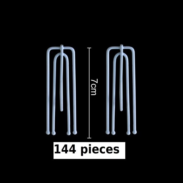 French Pleat Curtain 101 Hook Type - Middle Hook ( 144pcs )