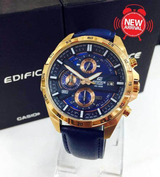 Special Promotion Premium Quality New Model Blue & Golden Limited Edition Watch Malaysia