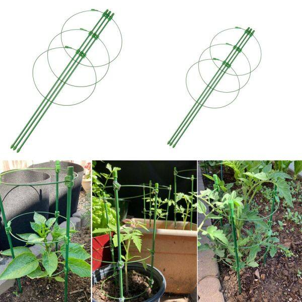 YOUZA96926 New Trellis Green Agriculture Flower Adjustable Vine Climbing Rack Plant Support Frame Gardening Tools
