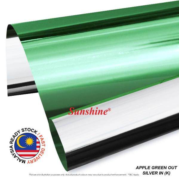 Window Film For House 【Malaysia Ready Stock】306090120150CM One Way Mirror Daytime Privacy Window Sticker Heat Control Anti UV Window Tint for Home and Office