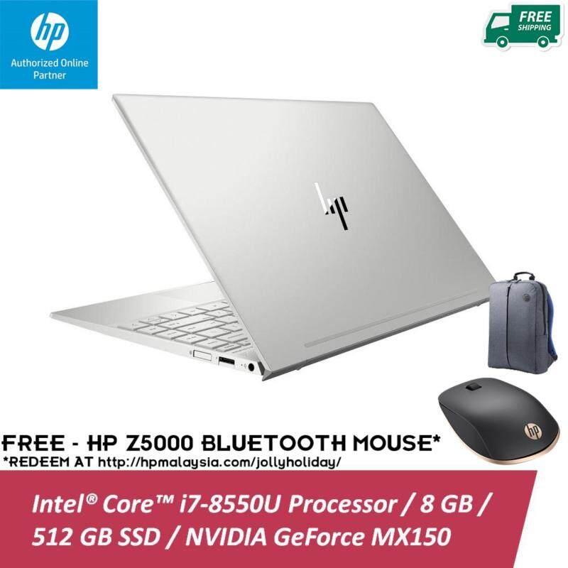 HP ENVY 13-AH0042TX 13.3 FHD IPS Laptop Silver ( I7-8550U, 8GB, 512GB, MX150 2GB, W10 ) Malaysia