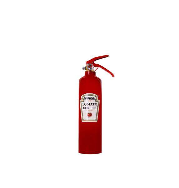(UDI) 1KG DRY POWDER FIRE EXTINGUISHER; TOMATO KETCHUP (RED)