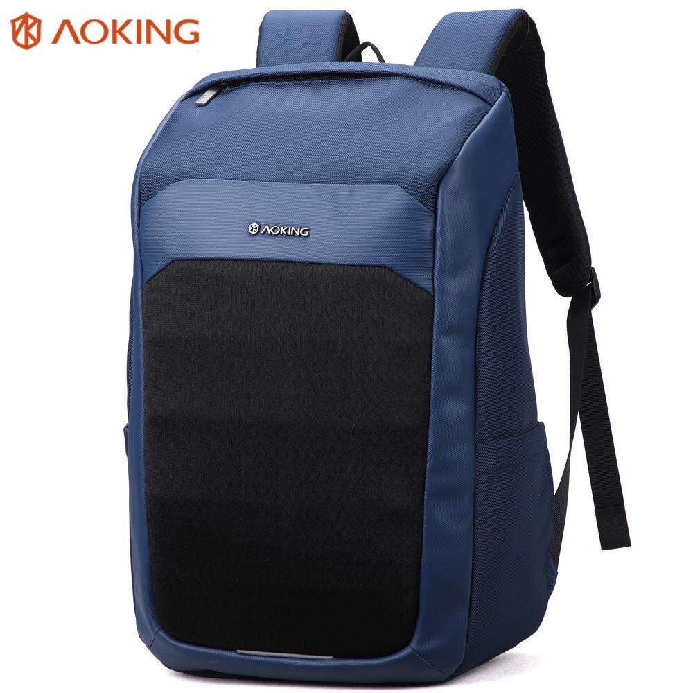 AOKING Ransel Travel Bisnis Ransel Fashion untuk Pria atau Wanita Universitas Sekolah Tas Buku untuk Laki-laki atau Perempuan Cocok 15.6 Laptop Macbook
