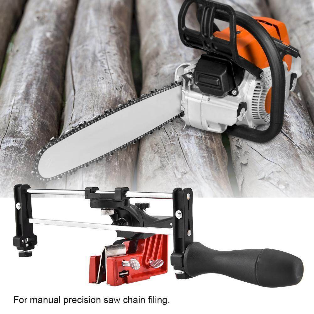 Bar Mounted Manual Chain Sharpener Chainsaw Saw Chain Filing Guide Tool By Minxin.