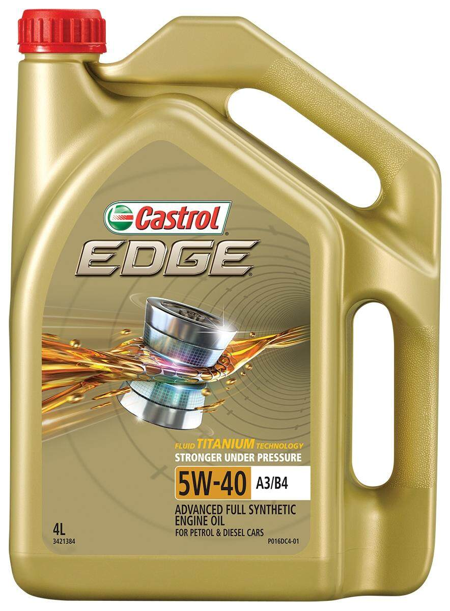 Afholte Original) Castrol Fully Synthetic Engine Oil 5W-40 4L | Lazada DP-28