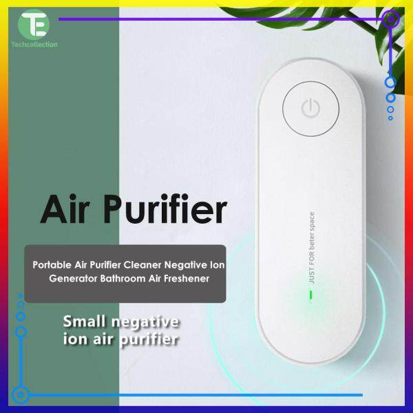 [50% OFF] Portable Air Purifier Cleaner Negative Ion Generator Bathroom Air Freshener Singapore