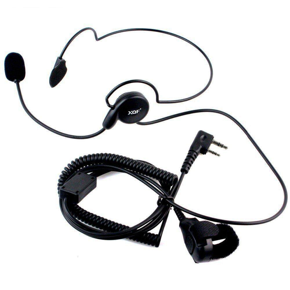 Tactical Radio Headset Auricular Unilateral Headphone With Mic Finger PTT  Ecouteur Cycling Field Earphone For Baofeng UV-5R UV-82 Handheld Radio