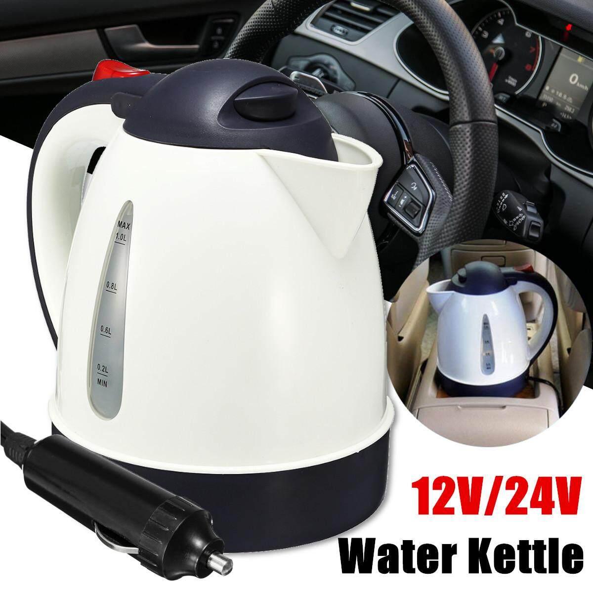 1000ml 12V Portable Car Water Kettle Heater Warmer Travel Camping Tea Coffee Jug#12V