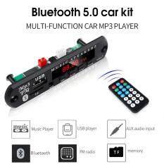 5V 12V Bluetooth 5.0 MP3 WMA Bảng Giải Mã Máy Nghe Nhạc MP3 Mô-đun Giải Mã Với Đài FM TF USB 3.5 Mm Đường Dây AUX Cho Xe Hơi Âm Thanh DIY Loa Xe Hơi Kit Với Điều Khiển Từ Xa